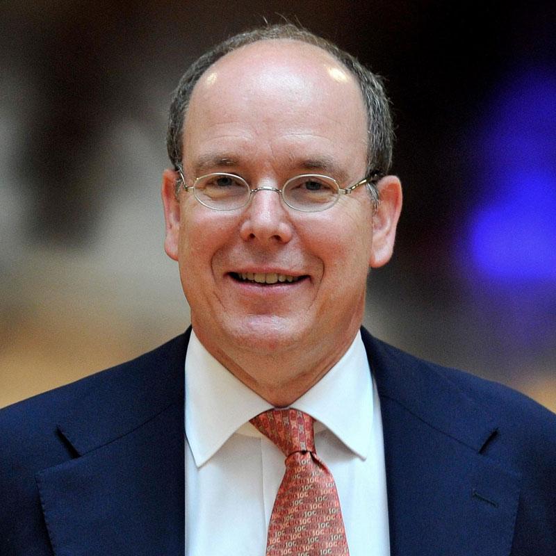 HRH The Prince Albert of Monaco